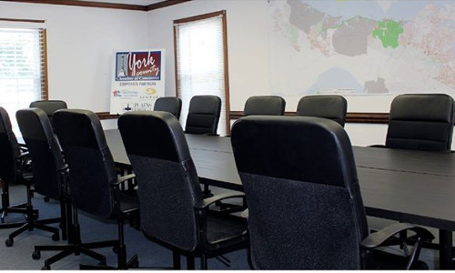york county chamber of commerce conference room rental
