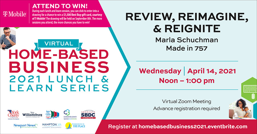 Home based Business April Lunch and Learn