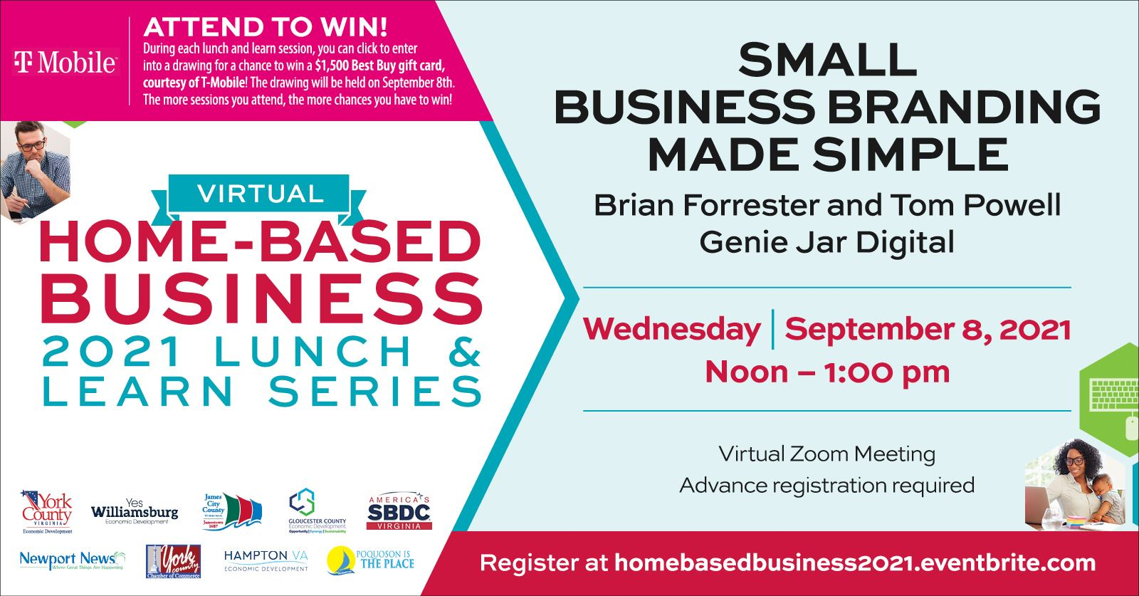 Virtual Home-based Business Lunch and Learn Series